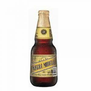 Cerveza negra modelo botella 35cl