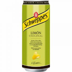 Refresco original limon schweppes lata 33cl