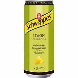 Refresco original limon schweppes lata 33cl