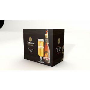 Cerveza g.reserva cruzcampo p-6x 33cl+vaso