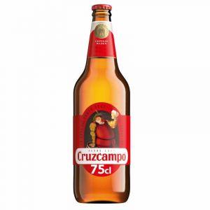 Cerveza cruzcampo 75cl