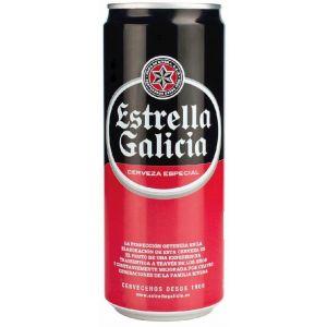 Cerveza estrella galicia lata 33cl