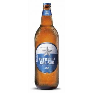 Cerveza sin alcohol 0,0%  estrella del sur  1l
