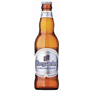 Cerveza hoegaarden botella 33cl