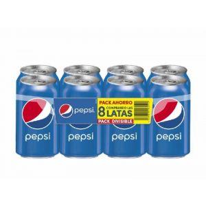 Refresco  cola pepsi lata sleek p-8  33cl