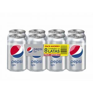 Refresco light cola pepsi lata sleek p-8  33cl