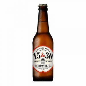 Cerveza barrica bodega 1530 botella 33cl