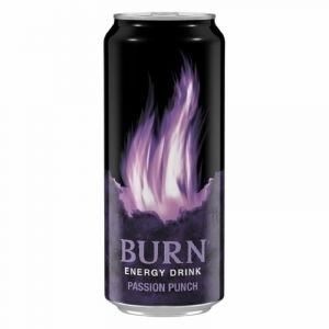 Bebida energetica passion punch burn lata 50cl