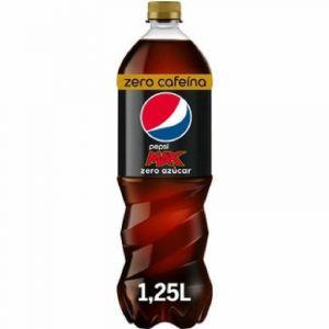 Refresco cola zero zero pepsi max pet 1,25l