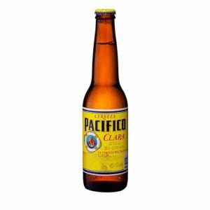 Cerveza clara pacifico bot 33cl
