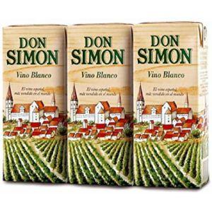 Vino mesa blanco don simon  p3x56,1cl
