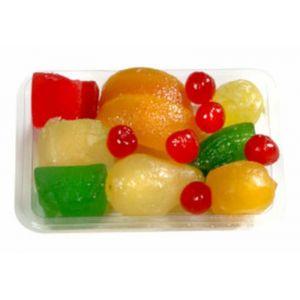 Fruta surtida glaseada primitivo pico 250g