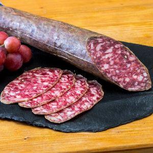 Salchichón ibérico cular de bellota nieto martín 1/2 pieza 550g aprox.