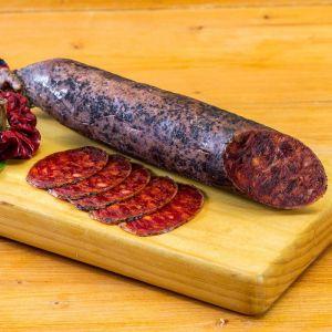 Chorizo ibérico cular nieto martín corte
