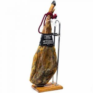 Jamon iberico cebo artesanos jamoneros +24 meses pza 8 a 9 kg