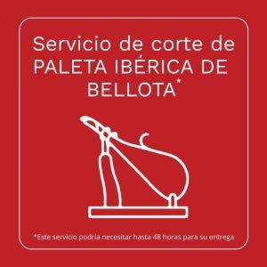 Servicio corte paleta iberica bellota
