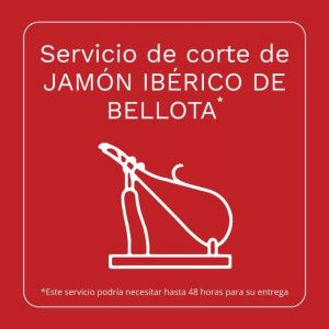 Servicio corte jamon iberico bellota