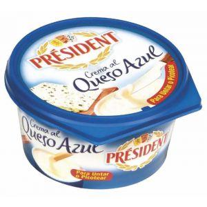 Crema de queso semicurado president 125g