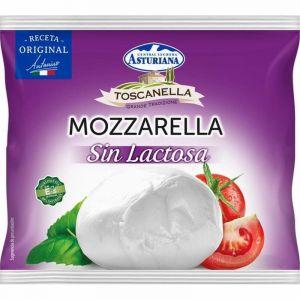 Queso mozzarella fresca s/lactosa  asturiana 100g
