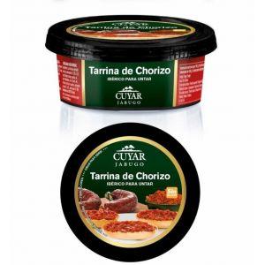 Chorizo ibérico para untar cuyar tarrina 160g