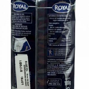 Bacalao gadus morhua desmigado royal 180 gr