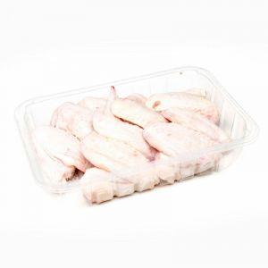 Alas de pollo bdja 500 gr aprox