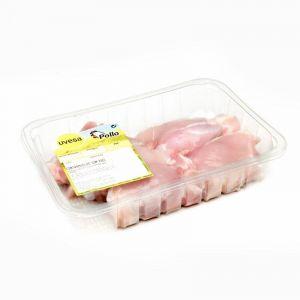 Contramuslo de pollo sin piel bandeja 600g-1kg aprox.