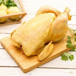Pollo amarillo entero