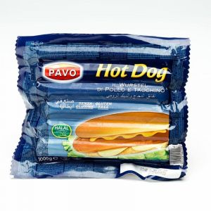 Salchichas hot dog pavo aia 1k