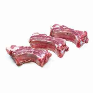 Costilla de cerdo fresco
