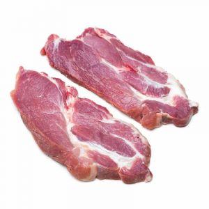 Filete de cabeza de lomo de cerdo fresco