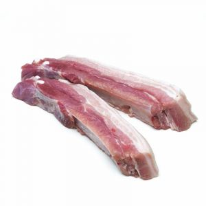 Costillas carnudas de cerdo