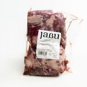 Presa ibérica bellota congelada jabu 350g aprox.