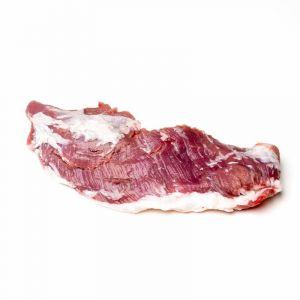 Pluma de cerdo ibérico fresco