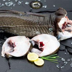 Bacalao fresco skrei pieza 2-4 kilos por pieza