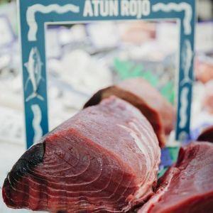 Lomo de atún rojo  granel