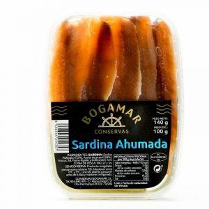 Sardina filete ahumado bogamar  100g