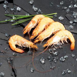 Langostino recien cocido 30/40  pescanova  extra granel