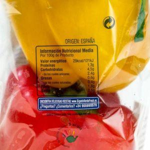 Pimiento tricolor   bdja 500g