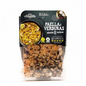 paella con selección de 6 verduras trevijano 280g