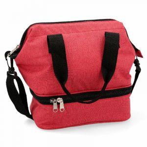 Lunch bag 23x15,5x25cm roja paradise kfk