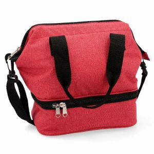 Lunch bag 23x15,5x25cm roja paradise kfk