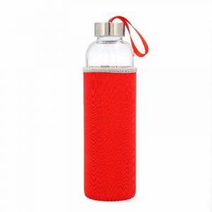 Botella 0,6l c/funda roja paradise kfk