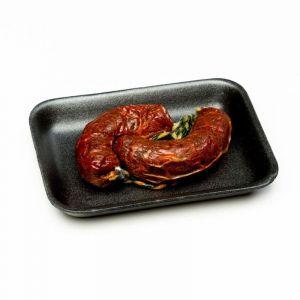 Chorizo ibérico para guiso dominguez valle pack de 2 unidades de 120 gr. aprox.