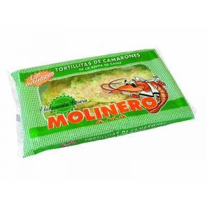 Tortillitas camarones molinero paquete 500gr