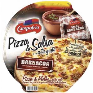 Pizza fresca barbacoa campofrio 410g