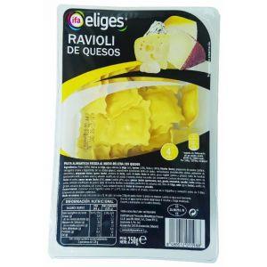 pasta fresca ravioli 4 quesos ifa eliges 250g