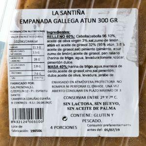 Empanada gallega de atún la santiña 300g
