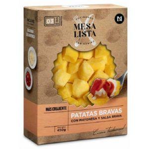 Patatas bravas con mayonesa mesa lista 450 gr