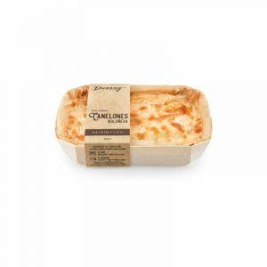 Canelones boloñesa dunany foods 350gr